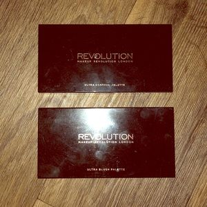 Revolution Ultra ConTour and Blush Palettes